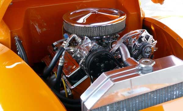 Hot Rod Restored engine