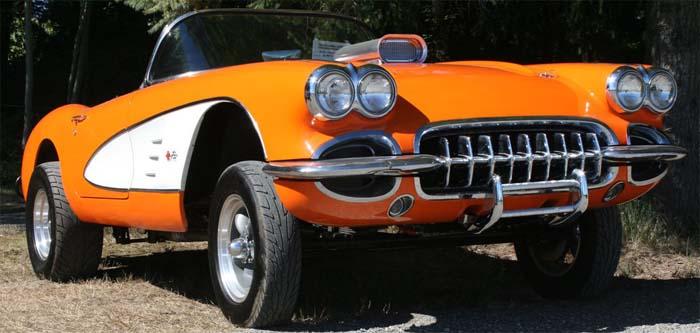 Completely Restored Corvette