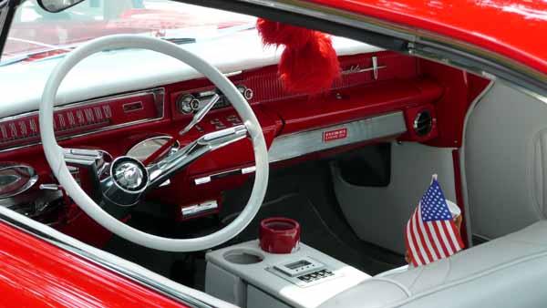 Restored Auto Interior